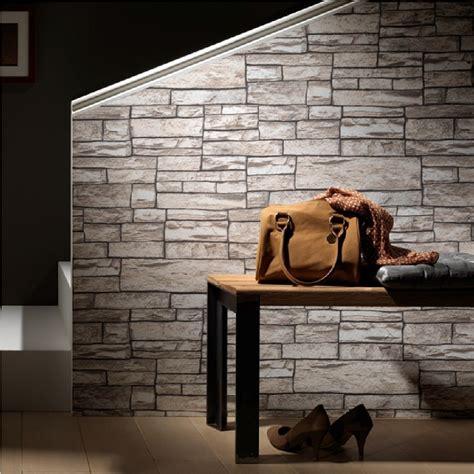 wallpaper for uneven walls uk erismann brix uneven stone wall brick textured wallpaper