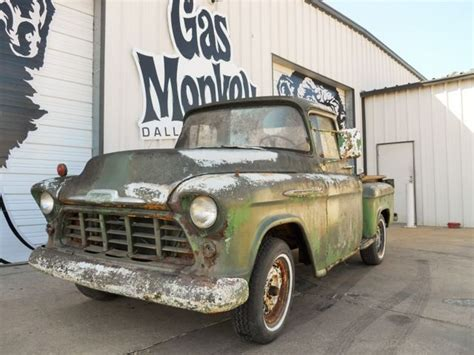 Gas Monkey Garage Truck Builds by 1956 Chevrolet Apache Up Truck Project No Reserve
