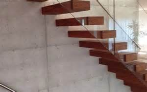 Corian Stairs Cantilevered Stairs In Wood Glass Concrete And Acrylic