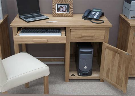 Small Computer Desk Oak Ideal Small Computer Desk In