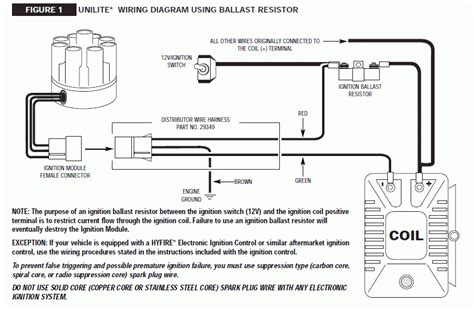ignition ballast resistor wiring diagram ignition free