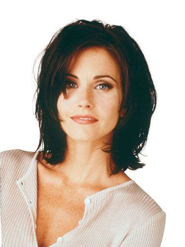 most iconic hairstyles in history die besten 25 courteney cox haar ideen auf pinterest