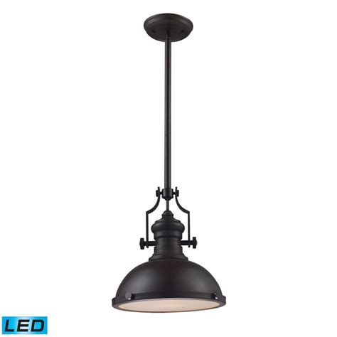 Titan Lighting Chadwick 1 Light Pendant In Led The Led Pendant Lights Canada
