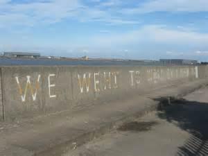 Thames River Wall | poem on the riverside wall near river 169 david anstiss