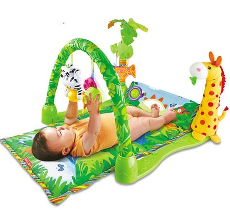 play toys baby play mat twist and fold activity play playmats musical soft colorful