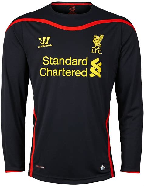 Jersey Langka Liverpool 13 14 Home Kit new liverpool 14 15 2014 15 home away third kits footy headlines
