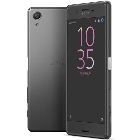 sony xperia x dual sim 64 go noir mobile smartphone