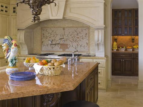 french country kitchen backsplash kitchen remodels country french tuscan afreakatheart