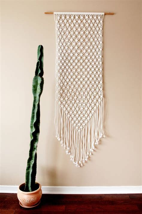 Macrame Wall Hanger - 25 unique macrame wall hangings ideas on