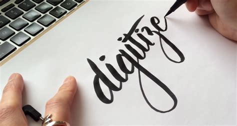 hand lettering tutorial illustrator how to convert your hand lettering from paper to digital