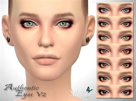sims 4 realistic eyes authentic eyes v 2 by ms blue at tsr sims 4 nexus