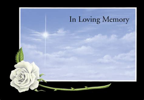in loving memory templates in loving memory tel 020 8269 1735