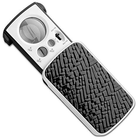 pocket magnifying glass with light fancii fc mp20x fancii led lighted slide out pocket
