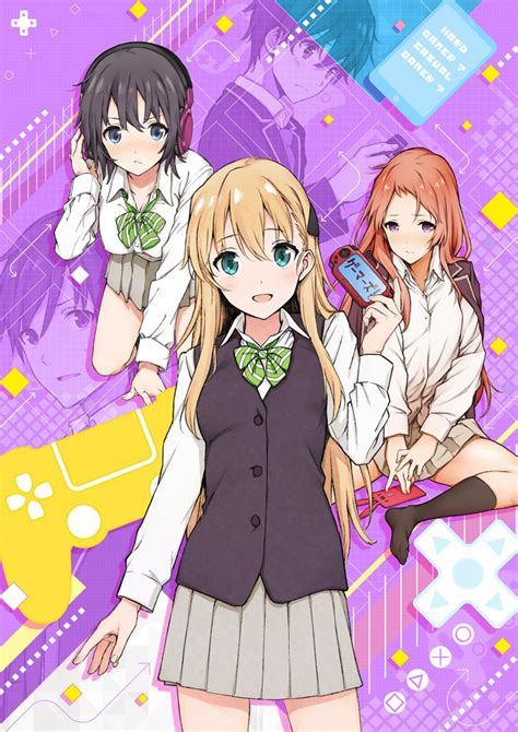 anime gamers episode 4 gamers light novel gets tv anime adaptation this july