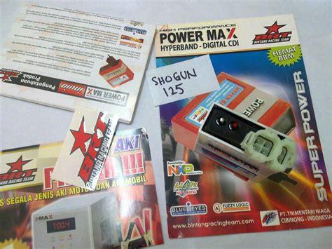 Cdi Racing Yuzaka Transparan Shogun 125 cdi brt powermax hyperband suzuki shogun 125 sp rr arashi 125 phutungxemoto net