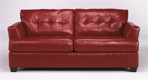 ashley furniture queen sleeper sofa buy ashley furniture 9460139 roeband durablend scarlet