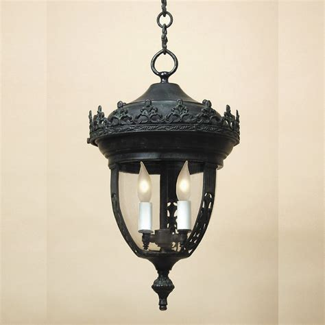 Jvi Designs 1113 Exterior 3 Candle 20 Inch Tall Drop Drop Ceiling Light Fixture