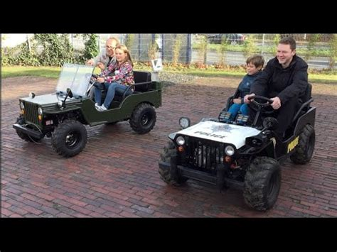 little jeep for kids little heroes children motor jeep vs police jeep kids