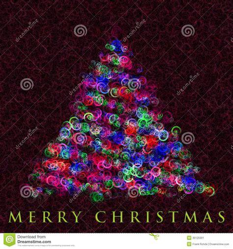 wonderful christmas tree illustration stock image image