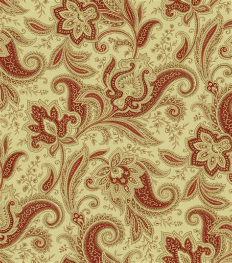 home decor print fabric waverly rustic retreat crimson at