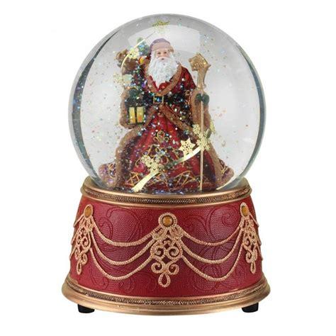 elegant santa snow globe snow water globes pinterest
