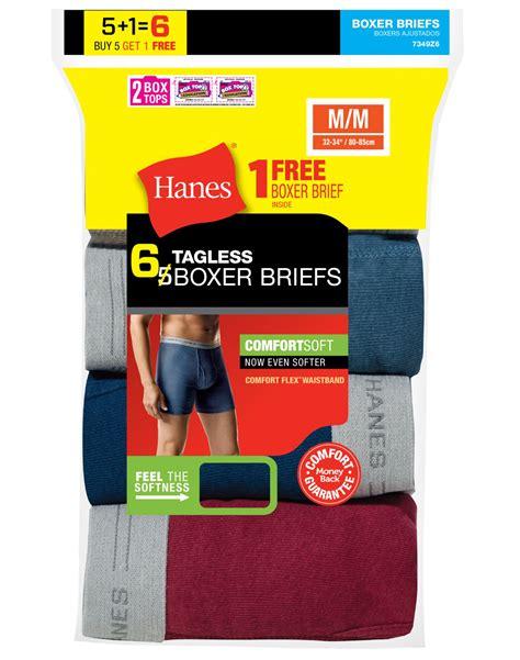 hanes comfort flex boxer hanes men s tagless 174 boxer briefs with comfort flex waistband