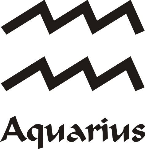 aquarius star sign vinyl sticker 163 1 92 zen cart the