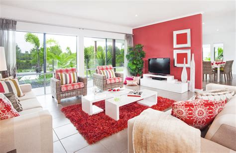 28 red and white living rooms living room ideas red and white interior design
