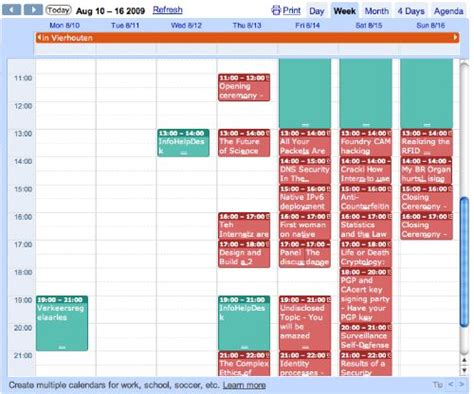Shared Calendar Calendars With Calendar Ical And The