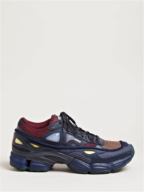 raf simons shoes blue raf simons mens ozweego 2 running sneakers in blue for lyst