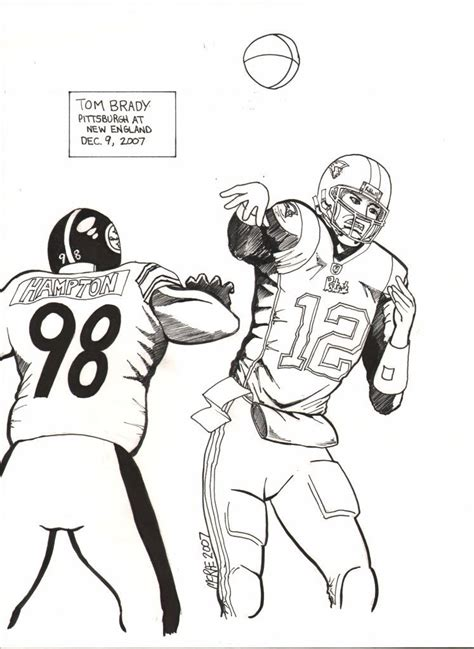 Tom Brady Coloring Pages Hicoloringpages Coloring Home Tom Brady Coloring
