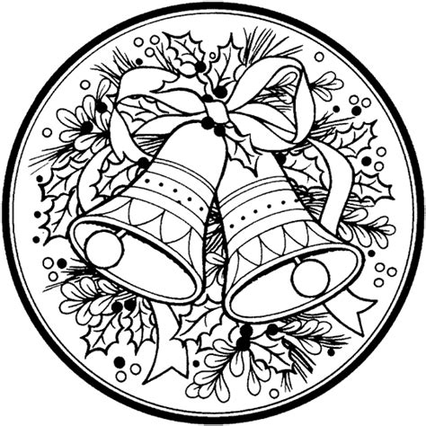 round christmas ornament coloring page cane di natale
