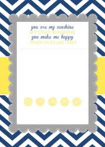 Baby Shower Invitation Template by You Are My Baby Shower Printables How To Nest