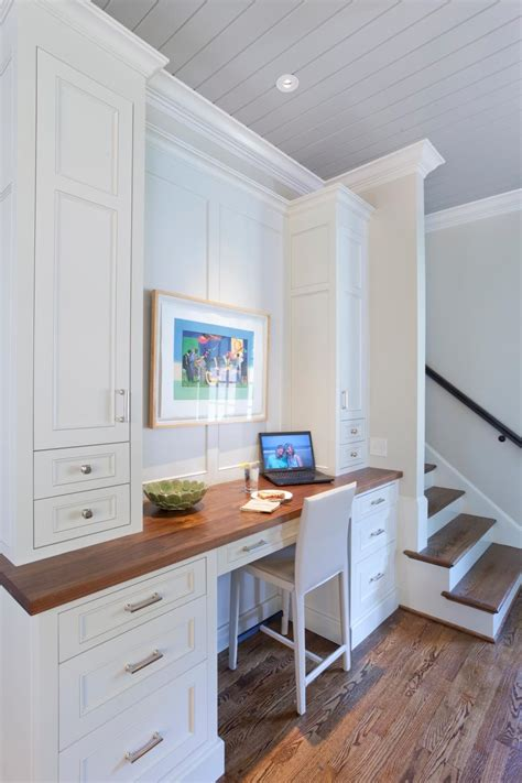kitchen desks built in complete kitchen renovation including breakfast room