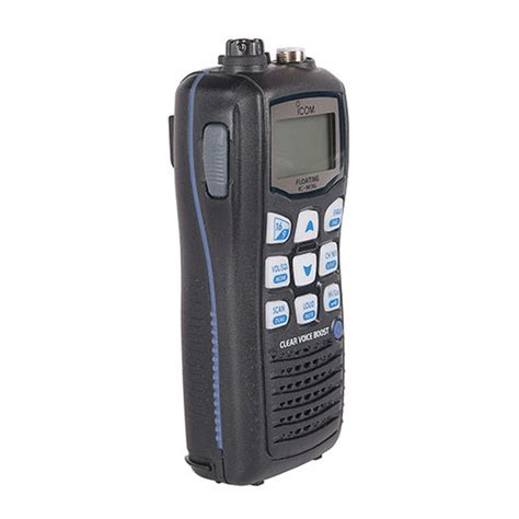 Ht Icom Ic M24 Vhf Marine icom m36 floating handheld vhf radio west marine