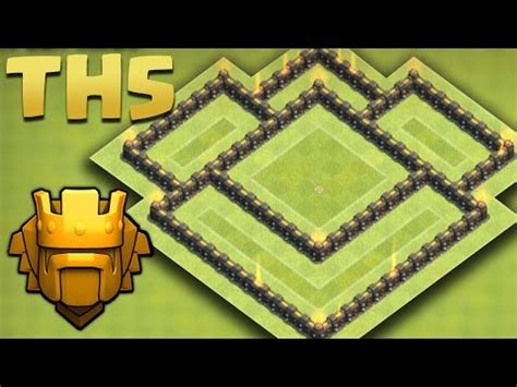 coc layout rh5 clash of clans defense strategy townhall level 5