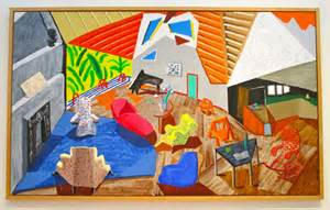 Dining Room Ceiling Light by Modern Art Monday Presents David Hockney Large Interior