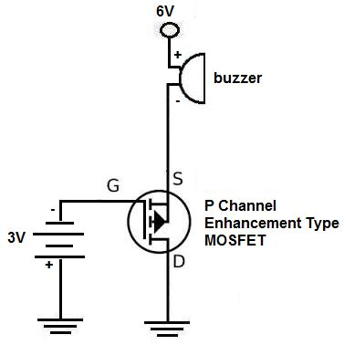 mosfet transistor switch circuit how to build an p channel mosfet switch circuit