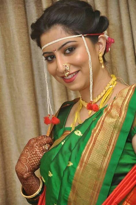 hairstyles in nauvari saree a wedding planner real marathi brides marathi wedding