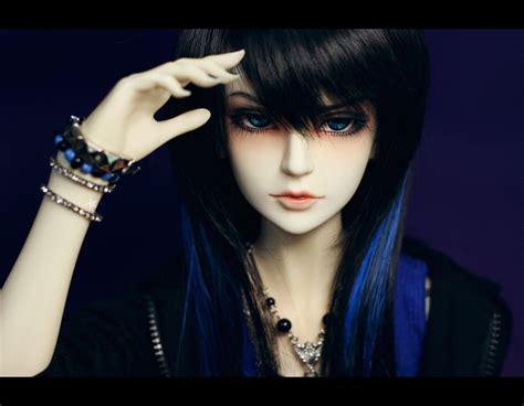 Hair Color And Style Doll Black by Doll Blue Hair Wallpaper 1440x1120 542689