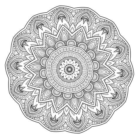 advanced mandala coloring pages 5 free printable coloring pages mandala templates