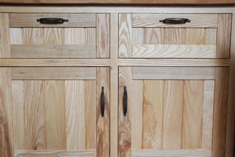 hand crafted custom ash kitchen cabinets by blue spruce hand made solid ash kitchen 06