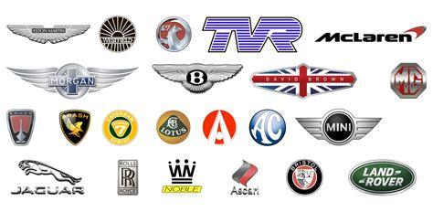 Auto Marken by Britische Automarken Zeichen Auto Geschichte