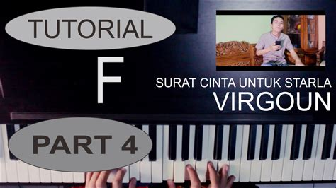 tutorial keyboard kesempurnaan cinta tutorial piano lagu surat cinta untuk starla virgoun by