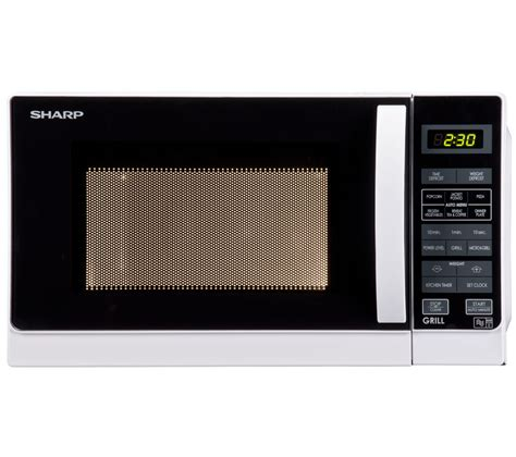 Microwave Sharp R230r S buy sharp r662wm microwave with grill white