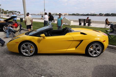 Hd Car wallpapers: lamborghini gallardo spyder yellow