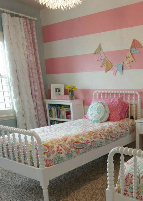 striped accent wall transitional girl s room 1000 ideas about striped accent walls on pinterest