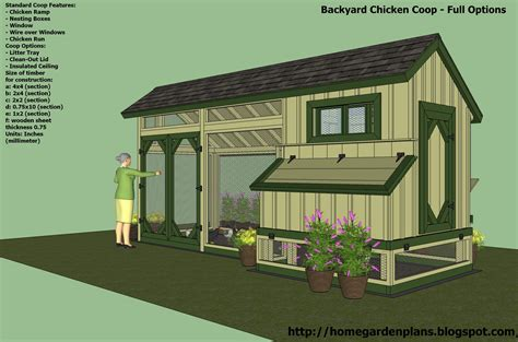 Chook House Plans Building A Chook House Plans