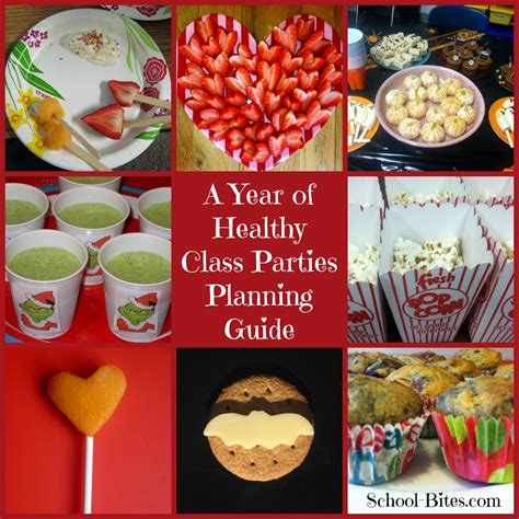 classroom treats a year of healthy class a planning guide for