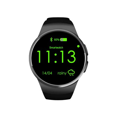 android rate monitor smartch 2017 smart phone kw18 bluetooth 4 0 smartwatch with rate monitor sleep
